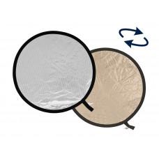Отражатель Lastolite LR4828 отражатель золотистый/мягкое серебро 120 см