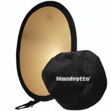 Отражатель Manfrotto Gold 50x38 Oval